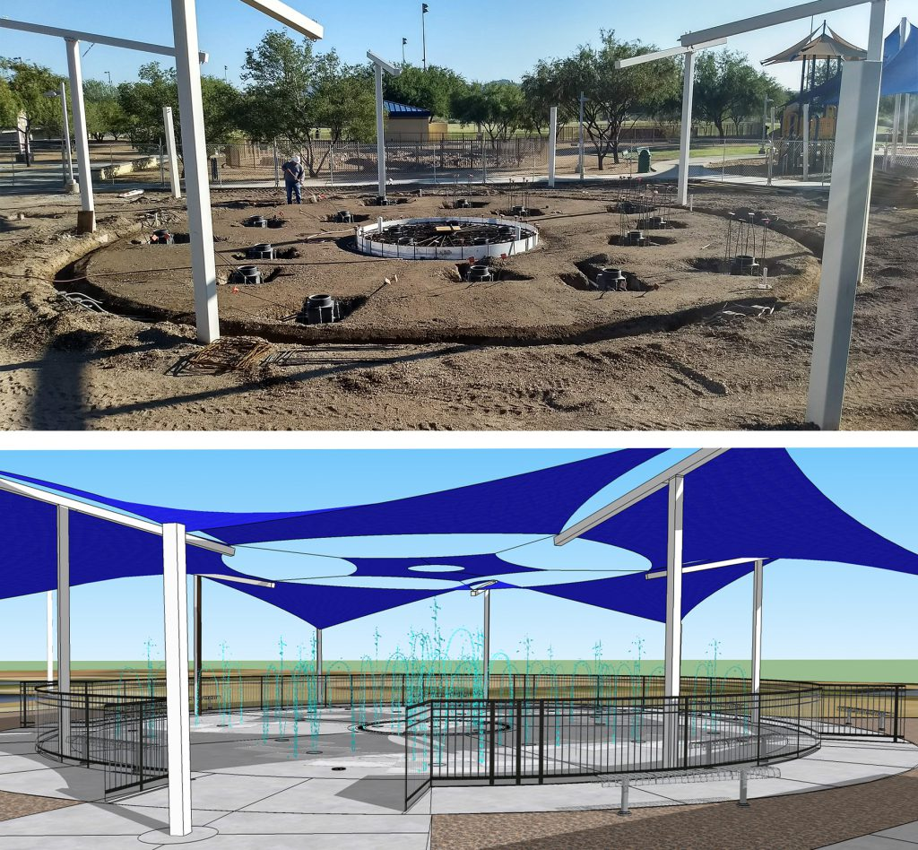 Splash Pad Rendering